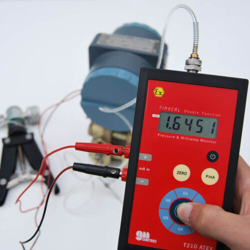 ATEX digital manometer